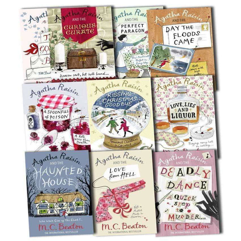 Agatha Raisin Series Collection M C Beaton 10 Books Set (11 to 20) Pack