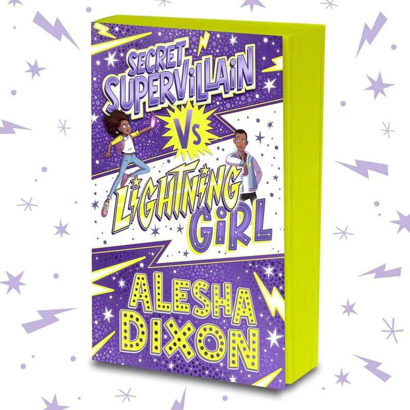 Alesha Dixon 3 Books Collection Set Secret Supervillain Vs Lightning Girl...
