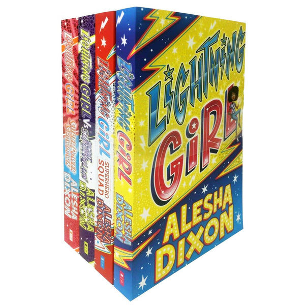 Alesha Dixon 4 Books Collection Set Secret Superpower Showdown, Lightning Girl