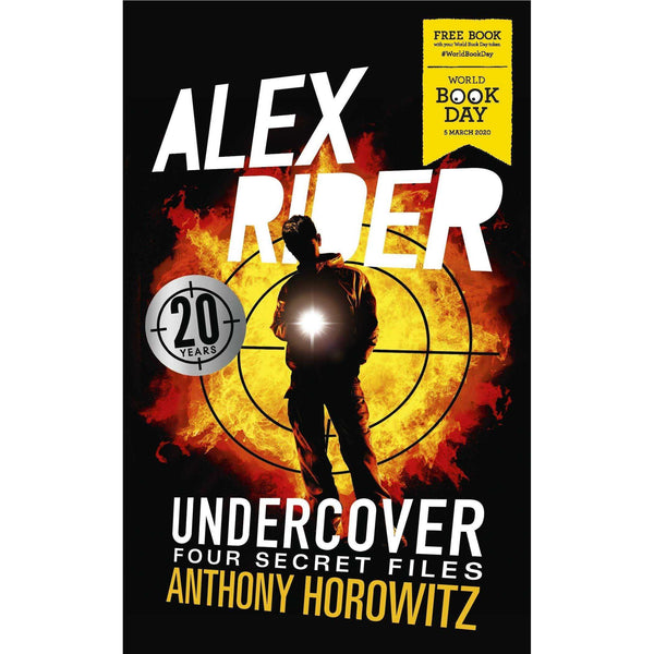 Alex Rider Undercover: Four Secret Files By Anthony Horowitz Paperback New
