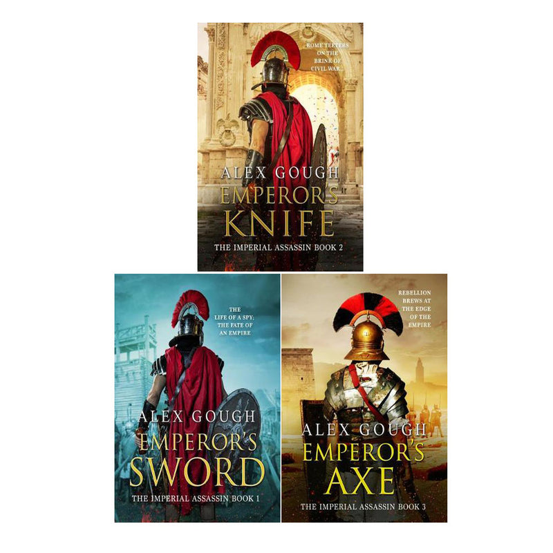 The Imperial Assassin Trilogy Collection 3 Book Set By Alex Gough