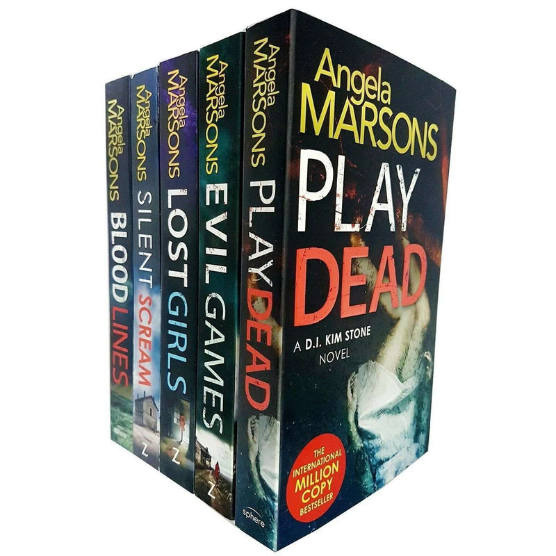 Angela Marsons Collection 5 Books Set Inc Lost girls, Silent scream,Play dead...