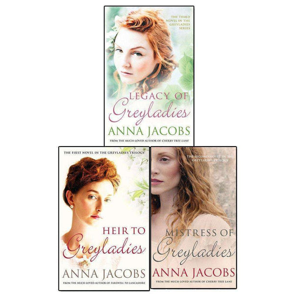 Anna Jacobs Greyladies Series 3 Books Set Collection Pack Heir to Greyladies