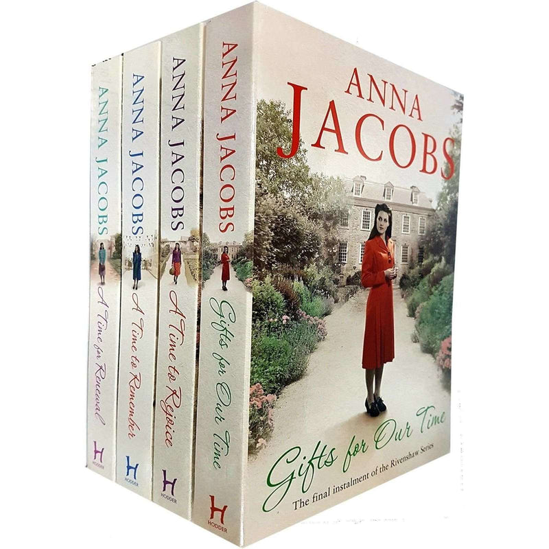 Anna Jacobs Rivenshaw Saga Series Collection 4 Books Set Pack Time to Remember