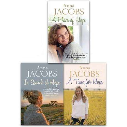 Anna Jacobs The Hope Stories 3 Books Collection Set Inc A Time For Hope