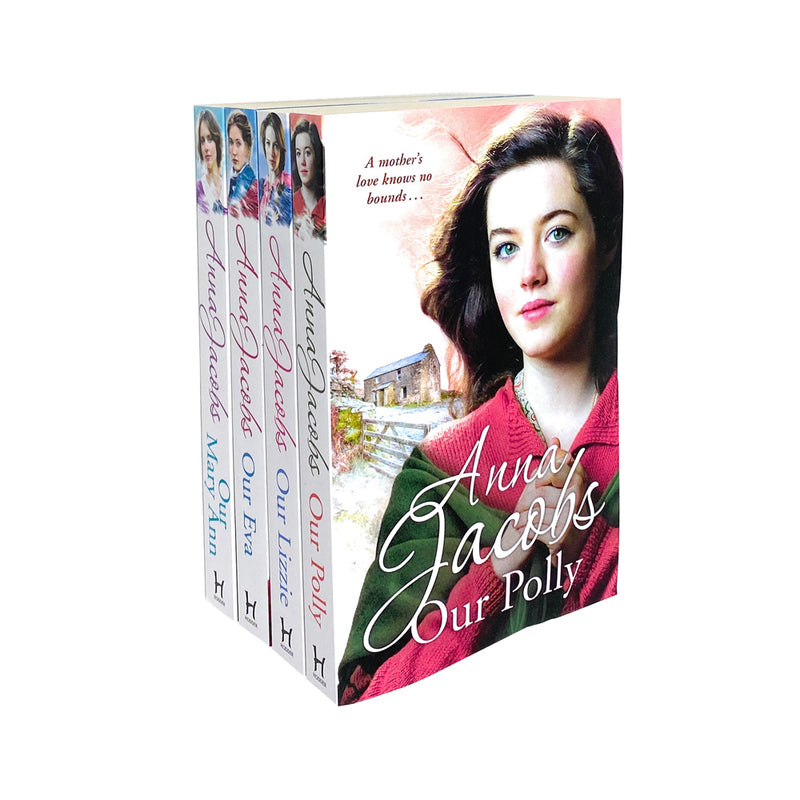 Anna Jacobs The Kershaw Sisters 4 Books Collection Set Our Lizzie, Our Eva