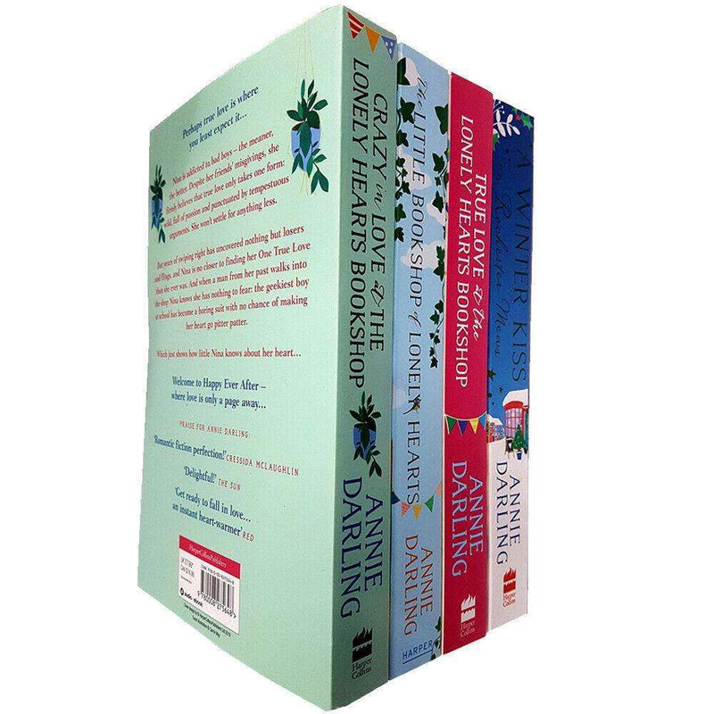 Annie Darling 4 Books Collection Set Pack The Little Bookshop of Lonely Hearts