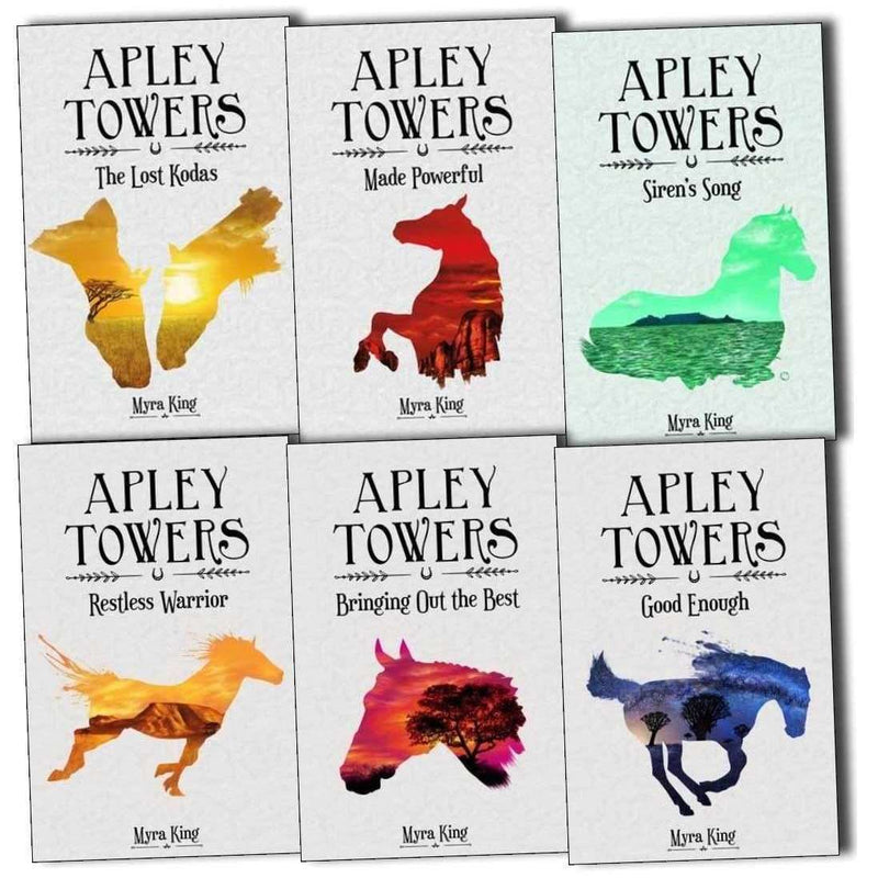 Apley Towers 6 Books Collection Set Pack by Myra King (Books 1-6) Children Books