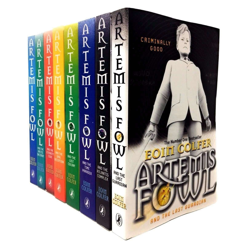 Artemis Fowl Collection Eoin Colfer 8 Books Set Last Guardian, Opal Deception