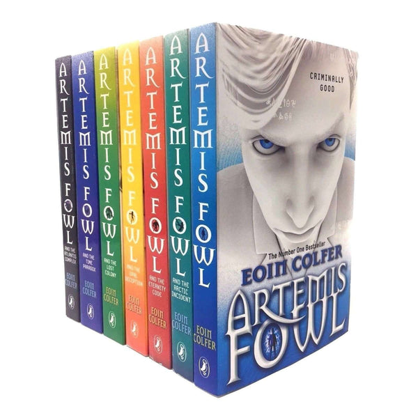 Artemis Fowl Collection 7 Books Set Pack By Eoin Colfer