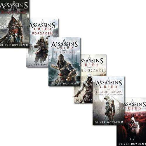 Assassins Creed 6 Books Collection Set