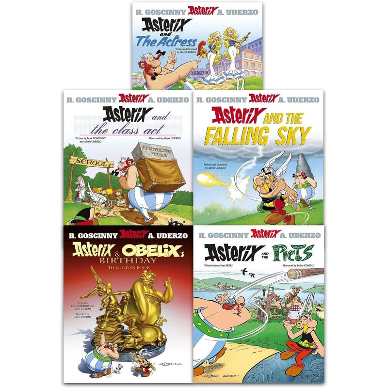 Asterix And The Picts Series 7 Collection 5 Books Set (31-35)