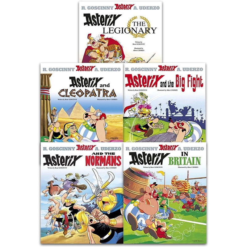 Asterix the Legionary Series 2 Collection 5 Books Set (6-10) Asterix In Britain
