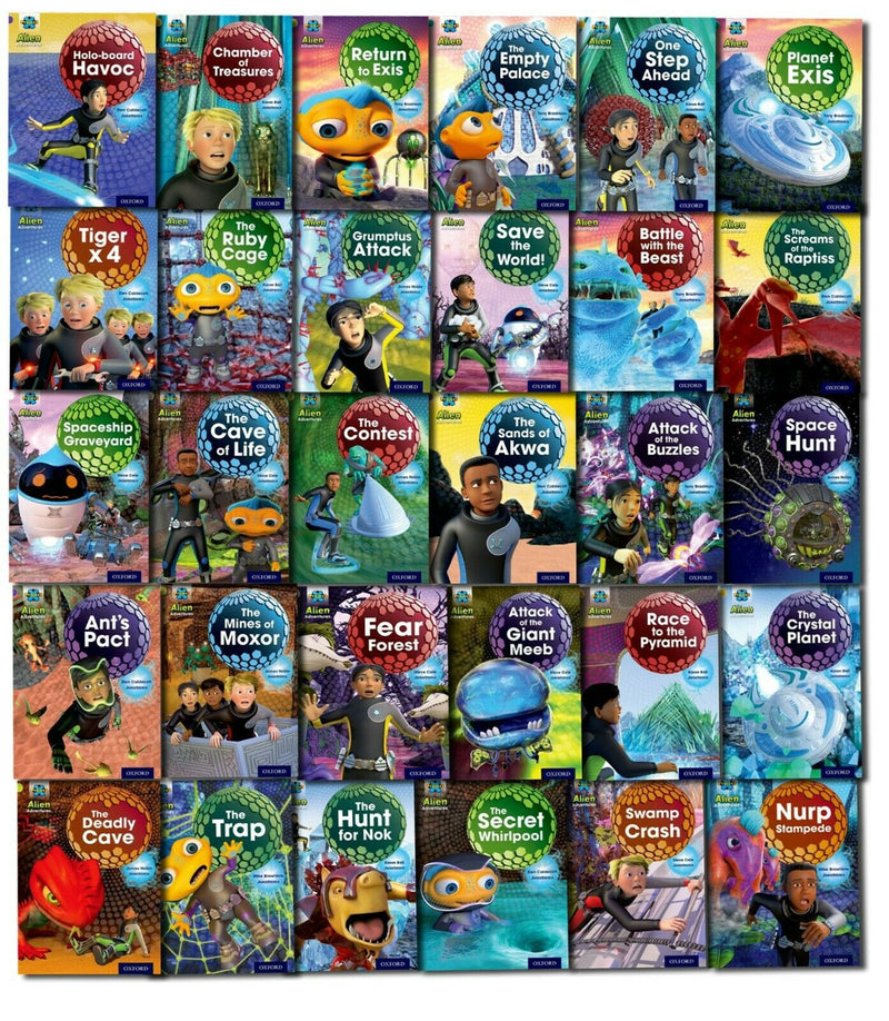 Oxford Reading Tree Project X Alien Adventures Collection 31 Books Set Pack - Series 1