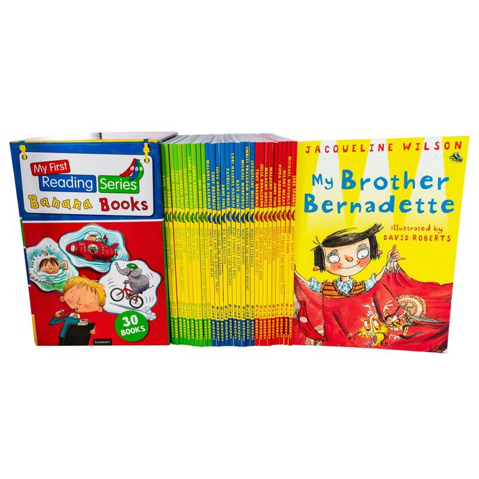 My First Reading Library Series Banana 30 Book box set Collection