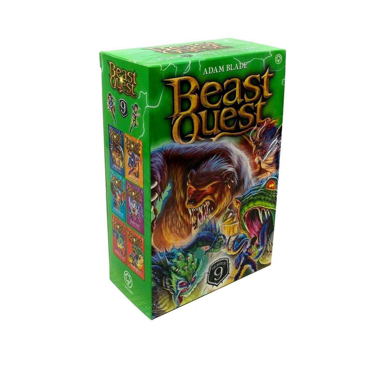 Beast Quest 6 Books Series 9 Children Collection Box Set By Adam Blade