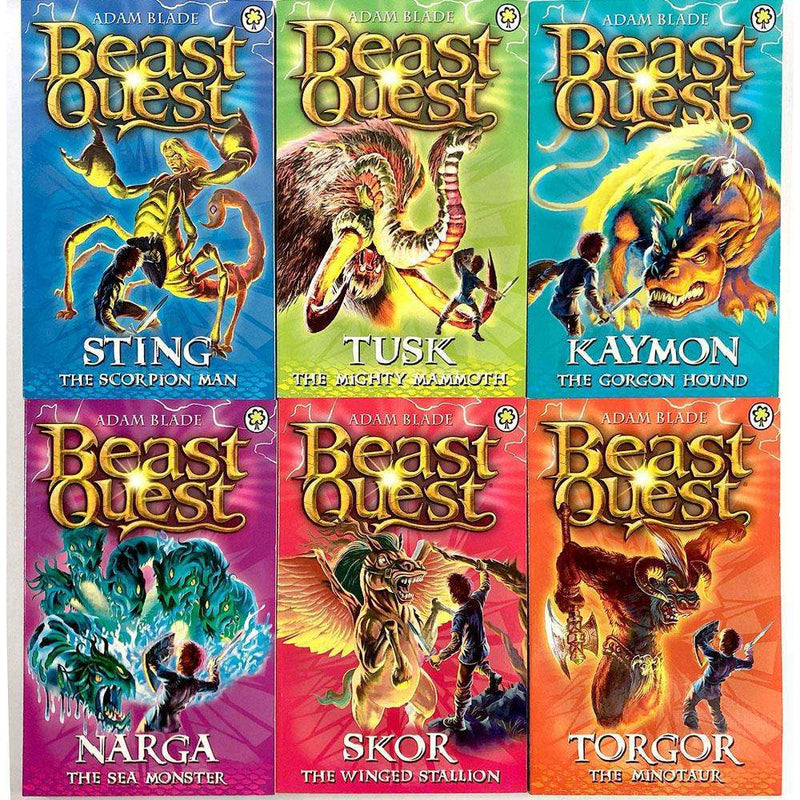 Beast Quest (Series 3) 6 Books Collection Adam Blade