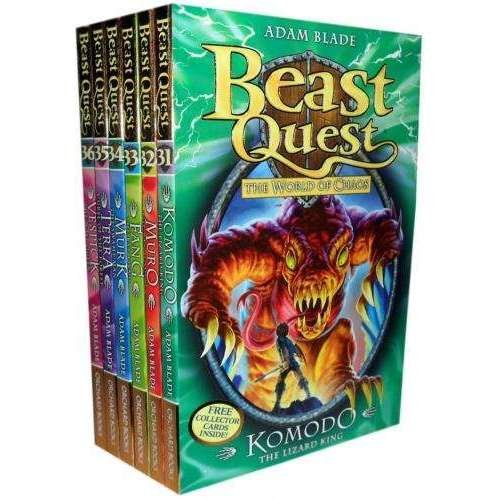 Beast Quest (Series 6) 6 Books Set Collection Adam Blade
