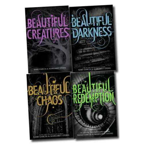 Beautiful Creatures Series Kami Garcia Margaret Stohl Collection 4 Books Set
