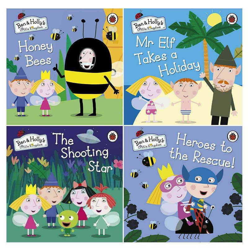 Ben & Holly's Little Kingdom 4 Books Collection Set Heroes to the Rescue