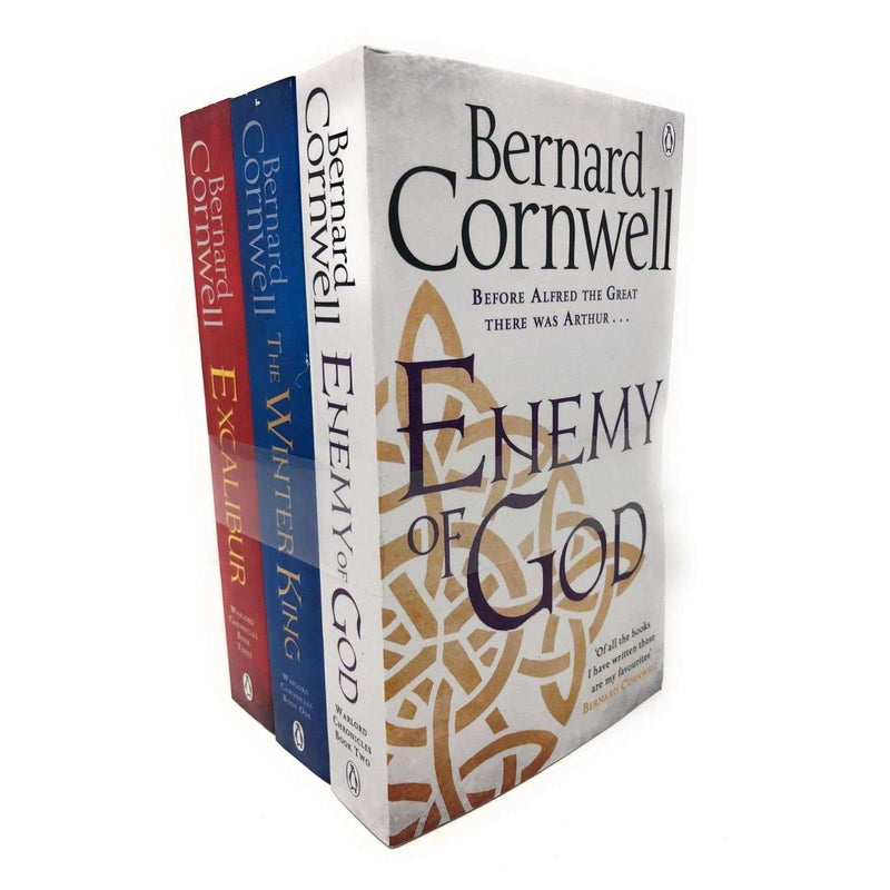 Bernard Cornwell The Warlord Chronicles Collection 3 Books Set