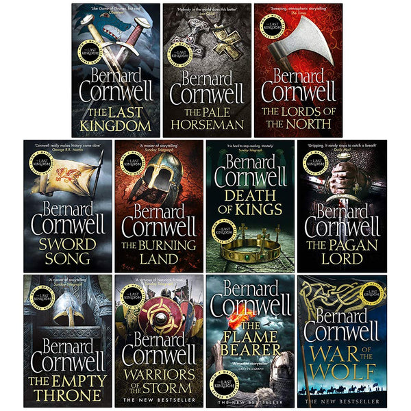 The Last Kingdom Series 11 Books Collection Set (1-11)