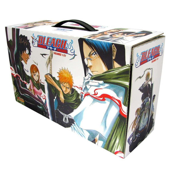 Bleach Box Set 1: Manga Volumes 1-21 Collection Pack, Double sided poster