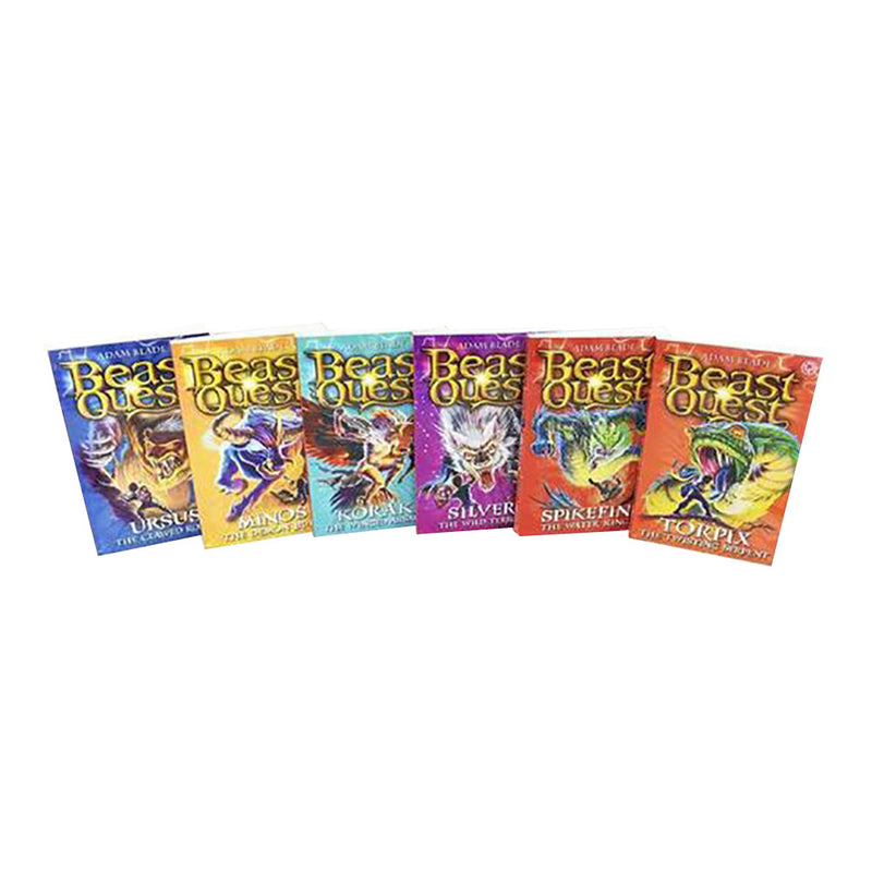 Beast Quest 24 Books Box Set Collection (Series 7, 8, 9 and 10)