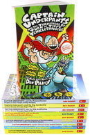 Captain Underpants 10 Books Set Collection Dav Pilkey