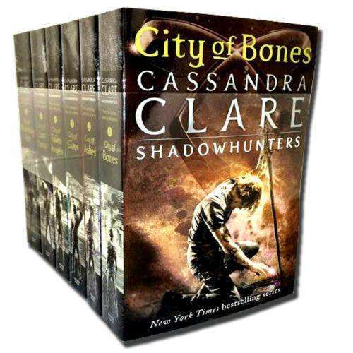 Cassandra Clare Set 6 Books Collection Mortal Instruments Shadowhunters Series