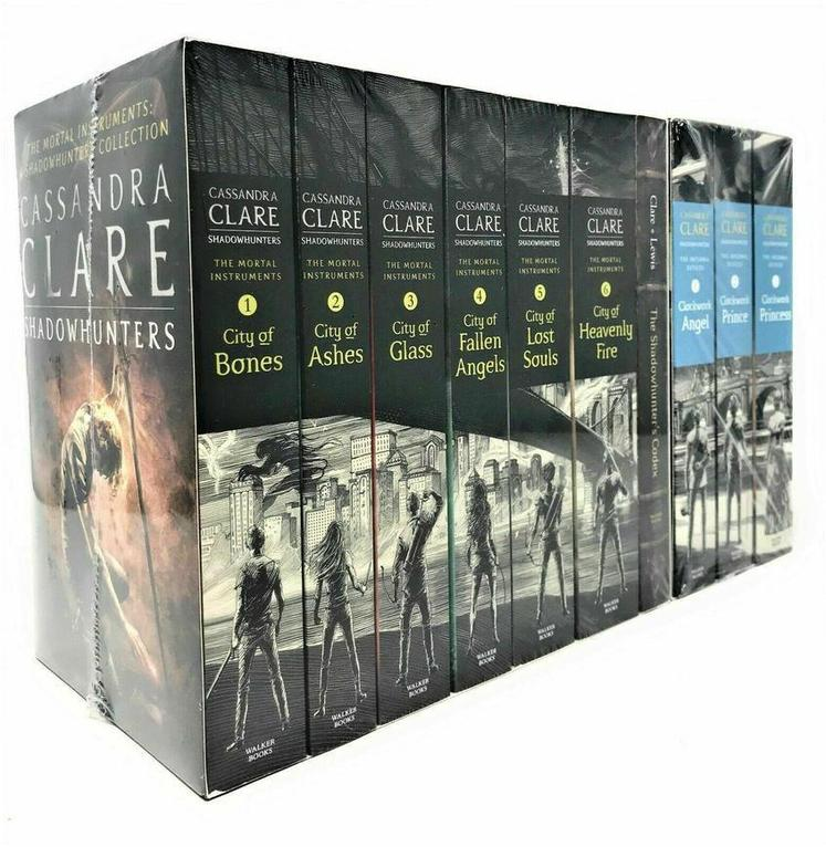 Cassandra Clare Mortal Instruments & Infernal Devices Collection 9 Books Set includes Heavenly Fire