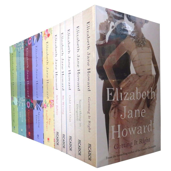 Cazalet Chronicle Collection Elizabeth Jane Howard 10 Books Set The Light Years