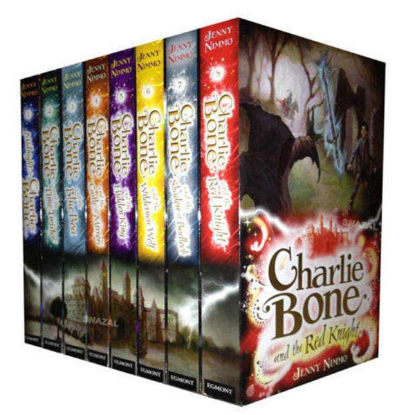 Charlie Bone Collection 8 Books Set By Jenny Nimmo Red Knight, Midnight, Blue Boa