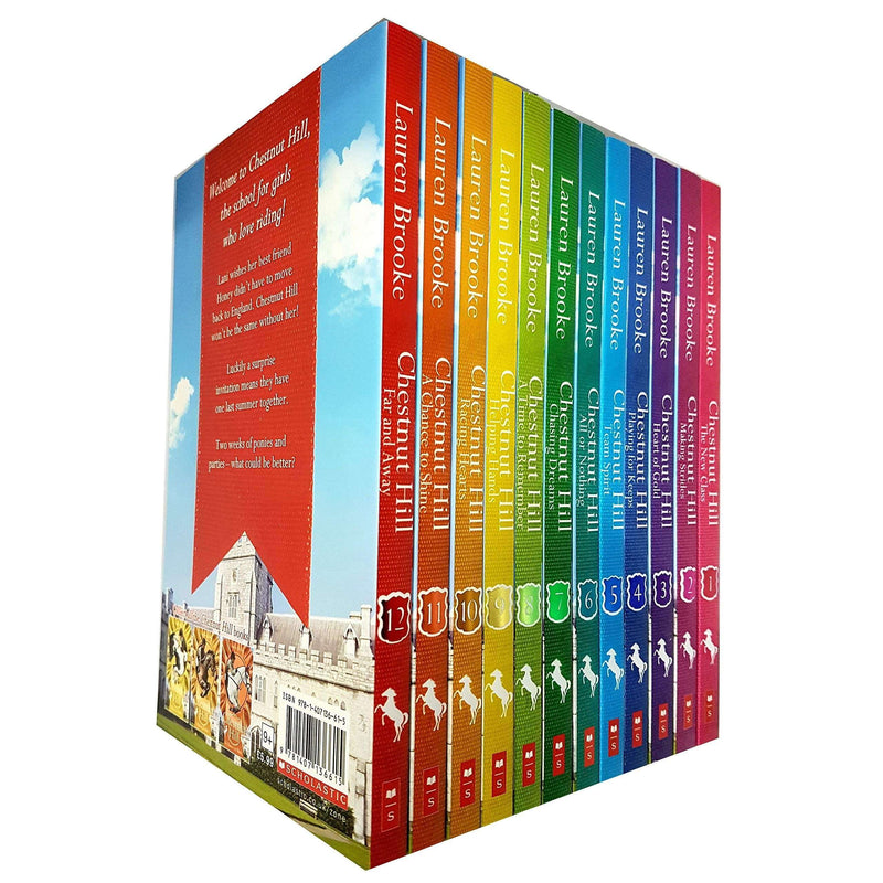 Chestnut Hill By Lauren Brooke 12 Books Collection Set Heart of Gold's Paperback