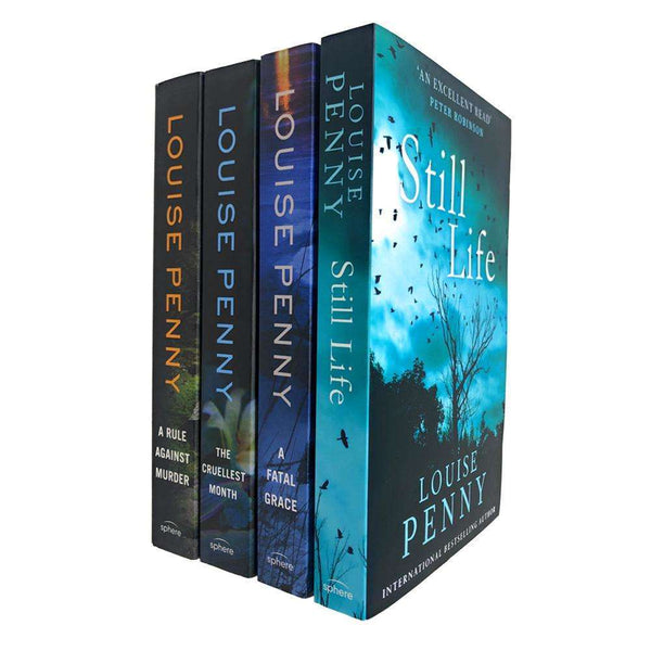 Chief Inspector Gamache Series Collection 4 Books Set By Louise Penny