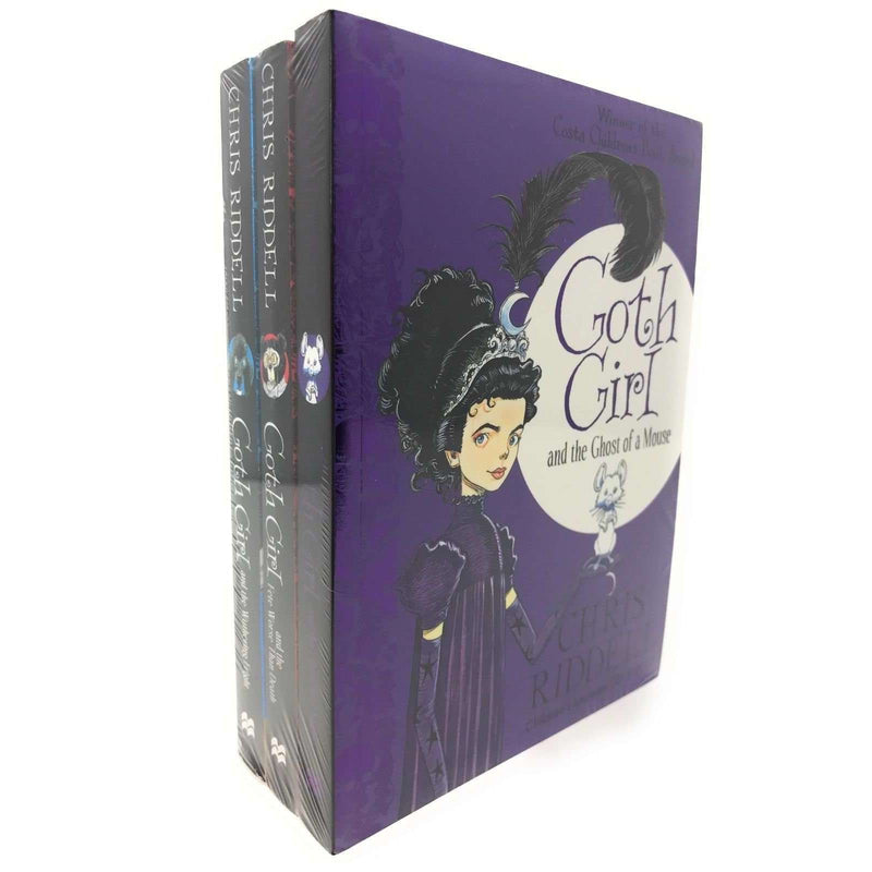 Chris Riddell 3 Books Collection Set (Goth Girl and Fete Worse Than Death)