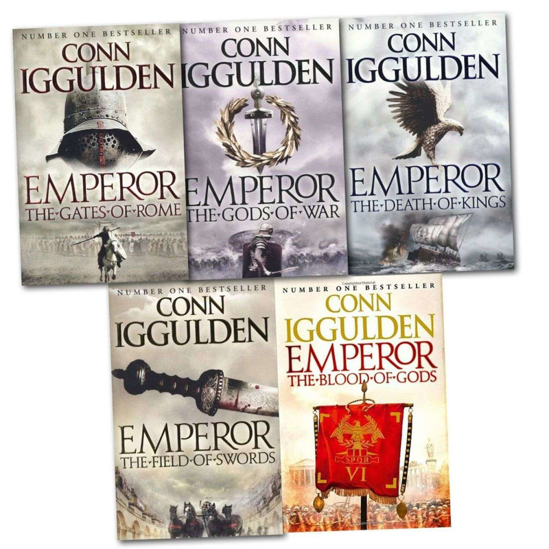 Conn Iggulden Emperor Series Collection 5 Books Set