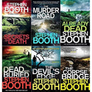 Cooper and Fry Series Collection By Stephen Booth 6 Books Set Murder Road