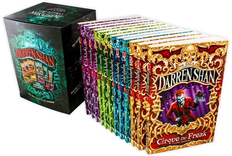 Cirque Du Freak The Saga of Darren Shan Collection 12 Books Set
