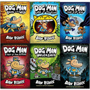 Dav Pilkey Dog Man Collection 6 Books Set Hardcover