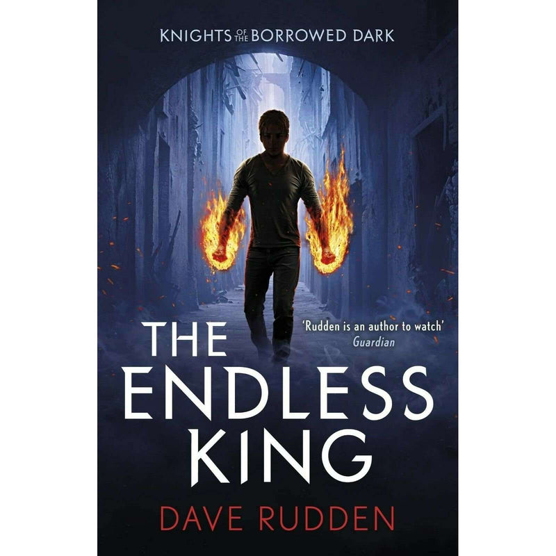 Dave Rudden Knights Of The Borrowed Dark Trilogy 3 Books Collection Set