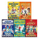 David Baddiel 5 Books Collection Set Person Controller Birthday Boy AniMalcolm