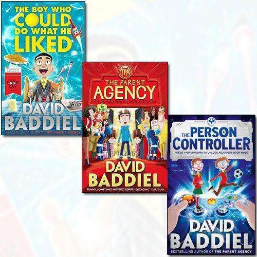 David Baddiel Collection 3 Books Set Pack The Parent Agency The Person Controller