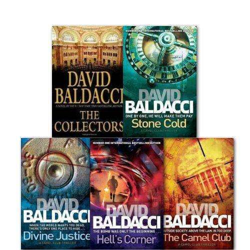 David Baldacci :A Camel Club Thriller Collection 5 Books Set