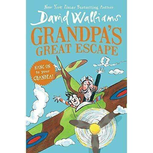 David Walliams Grandpa's Great Escape Book