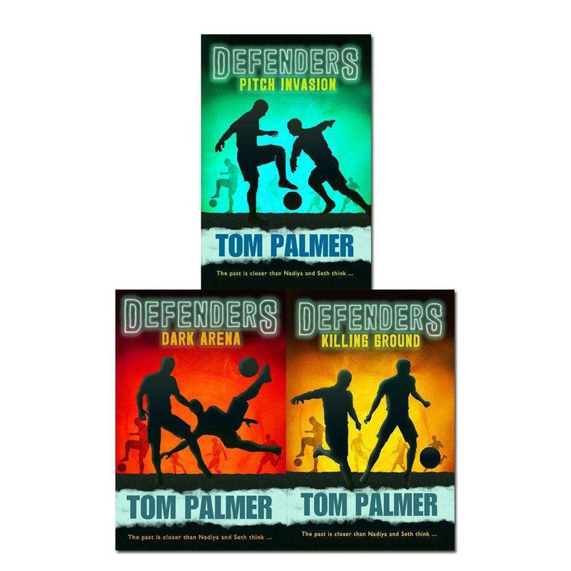 Defenders Series Tom Palmer Collection 3 Books Set Killing Ground, Dark Arena