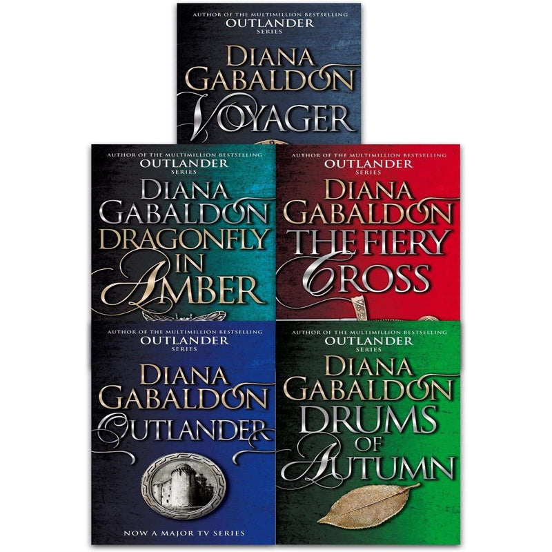 Diana Gabaldon Outlander Series 1 Collection 5 Books Set (1-5) Inc Voyager