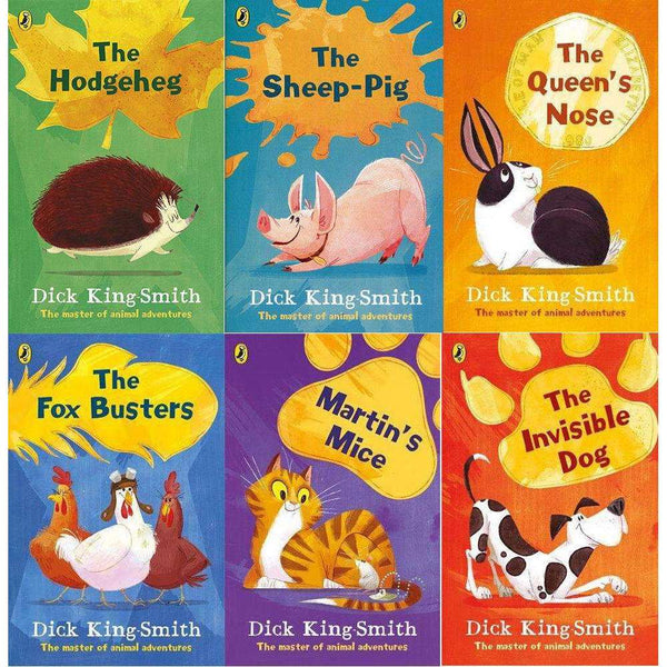 Dick King-Smith Collection The Master of Animal Adventures 6 Books Set