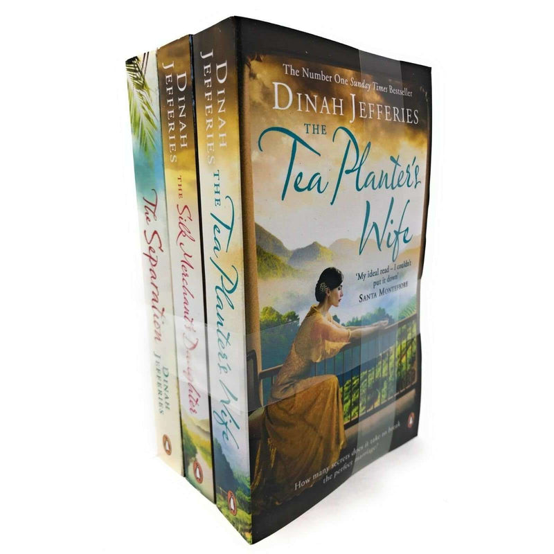 Dinah Jefferies 3 Books Set Collection The Separation, The Tea Planter's Wife