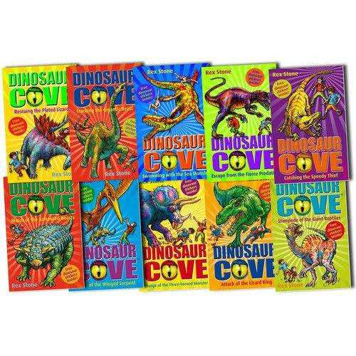 Dinosaur Cove x 10 book set Collection volume 1-10